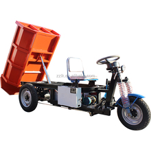 No noise narrow width of hopper to use in mining dumper tricycle