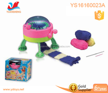2018 Children diy loom knitting machine toys stars cylinder kids wool weaving machine