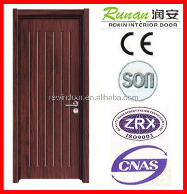solid wood door coating with PVC