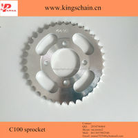 Motorcycle accessories 1045 and 1023 C100 36Teeth sprocket chain wheel