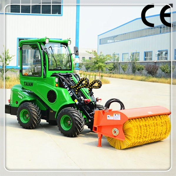 Multifunction Dy840 Mini Garden Tractor Loader Stone Bucket Loader For Sale View Mini Garden