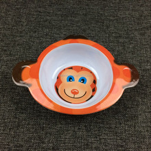 Animal shape bowl for baby safe 100%melamine