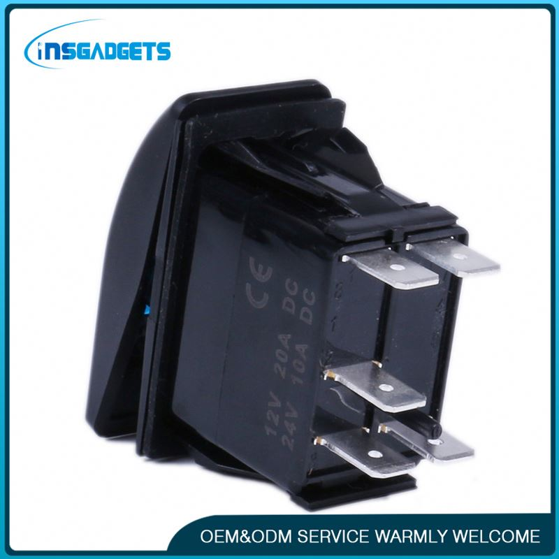 Led 120v rocker switch ,h0trg rocker switch labeled for sale