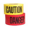 Underground detectable pvc/pe warning tape electrical