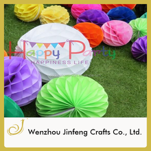 paper honeycomb ball paper garland paper ,wedding decoration