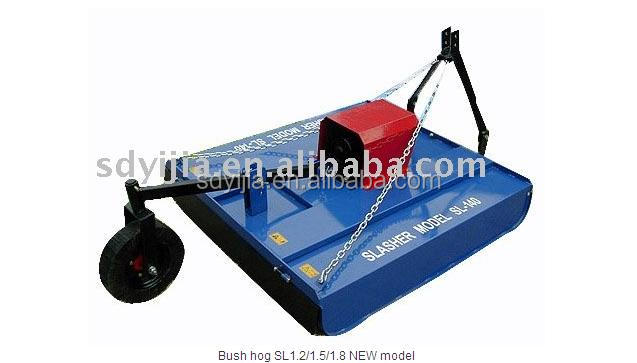 2014 hot sale stable quality with CE certificate bush hog mower