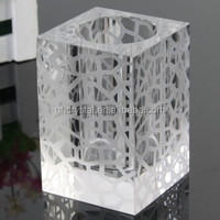 Crystal Pen Holder Office Table Decoration