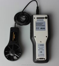 professional Wind Speed Meter use for aerography wind speed measuring