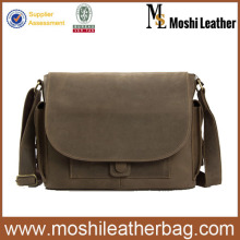 JW826 Military Leather Menssenger Bag