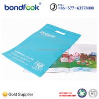 warmly welcomed heat sealed non woven shopping bag