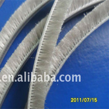 Aluminium doors and windows profile extrusion sliding window seals wool pile