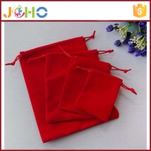 China Supplier Custom Printed Velvet Drawstring Pouch Fabric Gift Bags