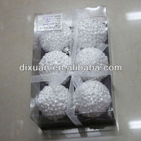 New-hot Plastic Transparnt Christmas Balls yiwu