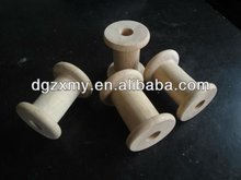 Mini wooden spool and natural wooden spool,industrial wooden spool