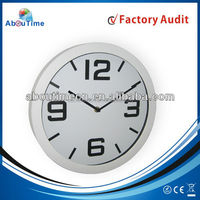 Large plastic wall clock/sun shaped wall clock/decoration wall clock