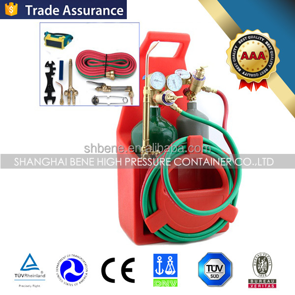 Welding Set contain 4L oxygen cylinder and 2l acetylene cylinder