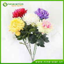 Newest PU flowers real touch artificial flowers
