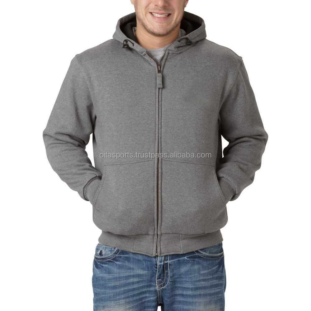 CH-302055 80% Cotton 20% Polyester (fleece) 300 gsm Custom Made Christmas Grey Hoodie