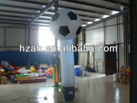 inflatable air dancer tube with football