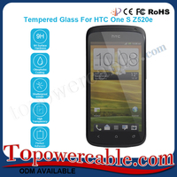 Anti Glare Tempered Glass Scratch Guard Screen Protectors For HTC One S Z520E Mobile