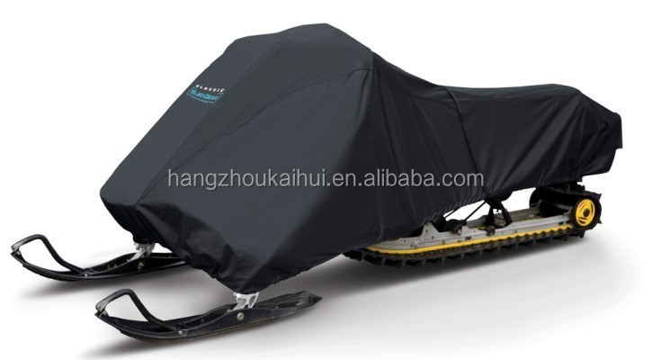 Durable 300D oxford snowmobile Cover with vents