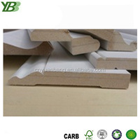 Modern and Decorative MDF Mouldings Coated with Gypsum