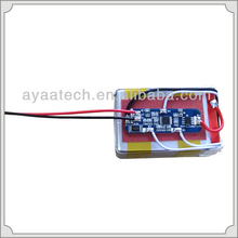 4s1p Rechargeable 14.8V 2.4ah Lipo Battery Pack