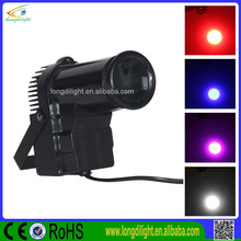 3W RGBW Pinspot Light Led Beam Spot Light Led Effect Light10w Led Pin spot Light