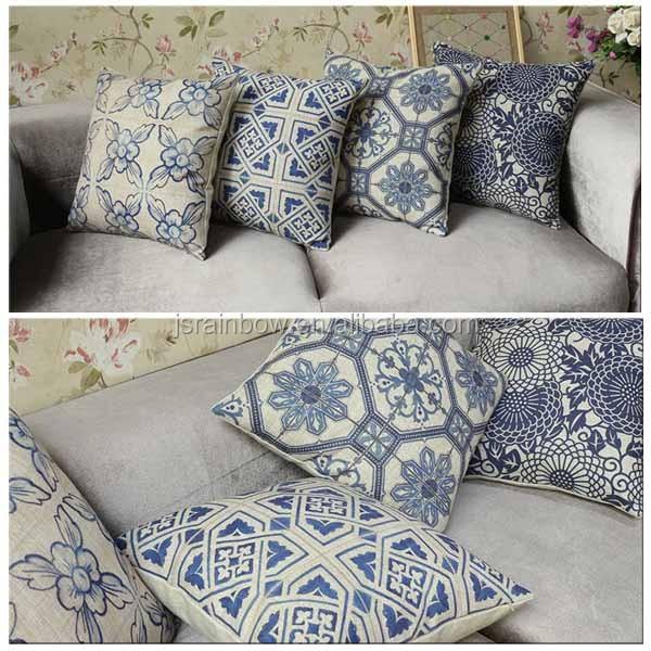2016new Vintage Print Cotton Sofa Cushion Cover Replacement Pillow Cover  A077   Buy Sofa Cushion Cover Replacement,Vintage Cushion Cover,Print  Cotton ...