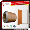 PVC film wood laminated steel sheets for door