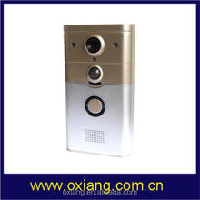 Factory HD 720p WiFi Wireless Video Visual Doorbell Monitor by Your Phone Anywhere with 3G or WiFi Ox-WD8