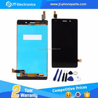 100% original new for huawei p8 lite lcd display with digitizer replacement accept paypal(without frame)