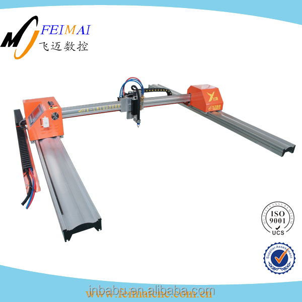 Small Aluminum Gantry Mini CNC Plasma And Flame Cutting Machine Cutter