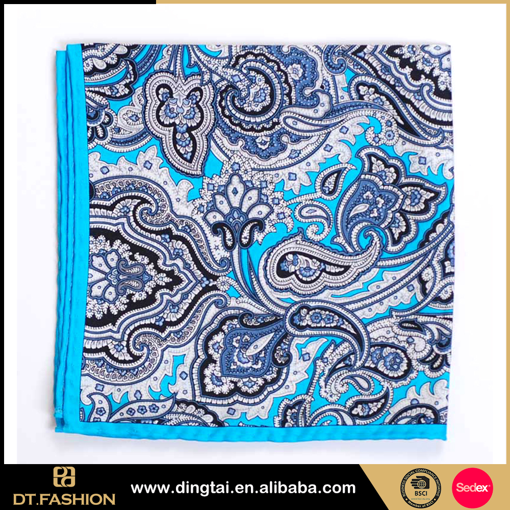 Lowest price colorful graffiti new printed fabric handkerchief