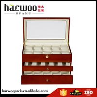 New product excellent quality stock wrist watch box for sale