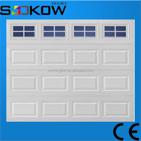 sectional garage door/motorized garage door/foam insulated panels