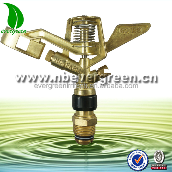 Evergreen sprinkler metal brass sprinkler