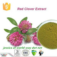 free sample !16 years China factory red clover extract for acne , red clover extract for skin , red clover extract for women