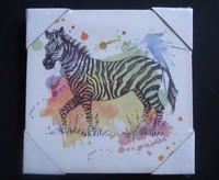 zebra oil painting on canvas animal oil painting canvas animal canvas oil painting