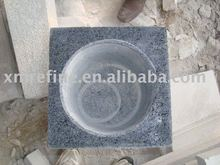 natural granite column pedestal