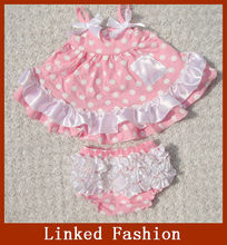 China wholesale cotton frocks designs baby dress new style