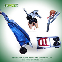 Alibaba foldable vegetable shopping trolley bag