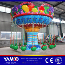 Outdoor children games theme park flying chair rides for sale/ amusement park rides swing family playground equipment