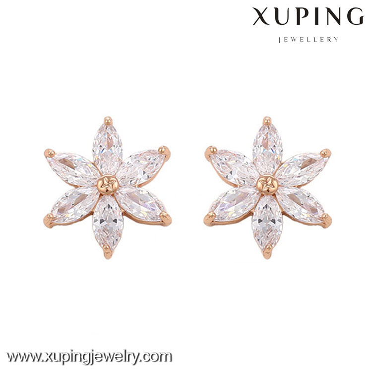29756 xuping New arrival wedding 18k gold color diamond jewelry
