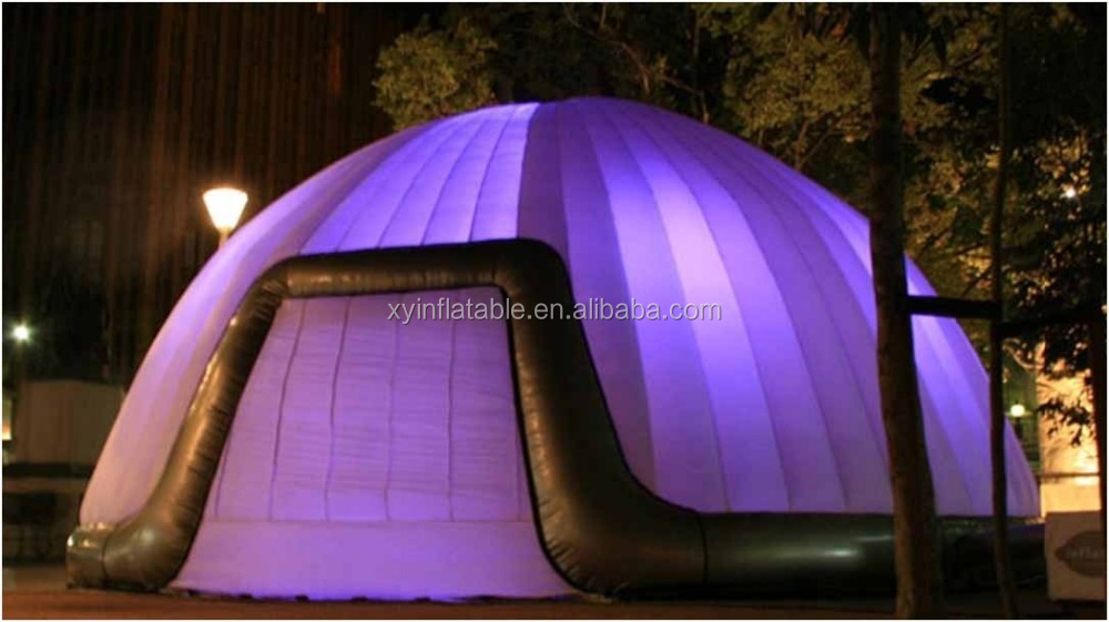 mongolian yurt style inflatable disco dome tent for sale