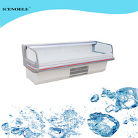 Supermarket Professional fancooling undercounted bar fridge
