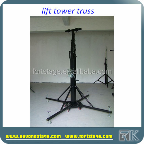 RK Telescopic Professional Truss Stand Tower Lift for moving head lights