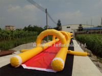Crazy And Popular Giant Inflatable Water Slip N Slide For Adult