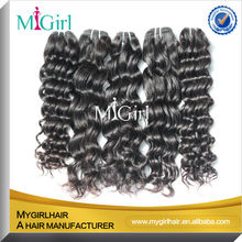 MyGirl Top Quality Low Price 6A Indian Hair Industries