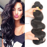 Alibaba Express Wholesale 100 Human Hair Extension Body Wave Real 100% Natural Raw Indian Hair Extensions